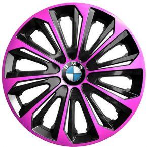 """Dísztárcsa BMW 15"""", STRONG DUOCOLOR pink és fekete 4 db"""