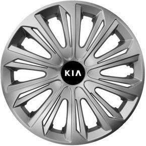 """Dísztárcsa KIA 15"""", STRONG szürke 4 db"""