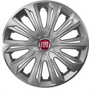 """Dísztárcsa FIAT 15"""", STRONG szürke lakkozott 4 db"""
