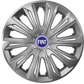 """Dísztárcsa FIAT BLUE 15"""", STRONG szürke lakkozott 4 db"""