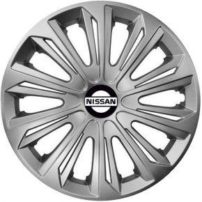 """Dísztárcsa NISSAN 15"""", STRONG szürke 4 db"""