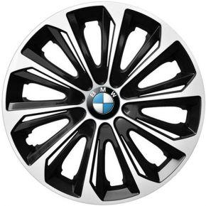 """Dísztárcsa BMW 15"""", STRONG DUOCOLOR fekete-fehér 4 db"""