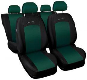 Univerzális üléshuzat SPORT LINE zöld