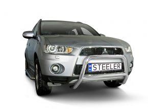 Steeler gallytörő rács Mitsubishi Outlander 2010-2012 Modell A