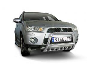 Steeler gallytörő rács Mitsubishi Outlander 2010-2012 Modell G