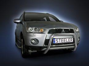 Steeler gallytörő rács Mitsubishi Outlander 2010-2012 Modell U