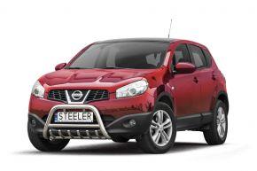 Steeler gallytörő rács Nissan Qashqai 2010-2013 Modell G